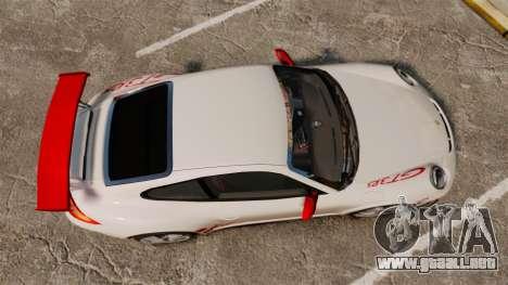Porsche 997 Carrera GT3 RS para GTA 4 visión correcta