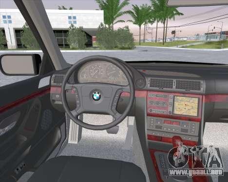BMW 7-series E38 para la visión correcta GTA San Andreas