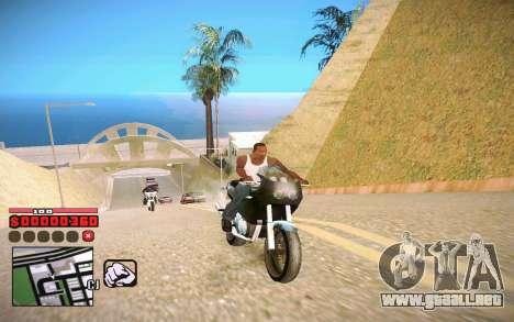 C-HUD by ComPot para GTA San Andreas segunda pantalla