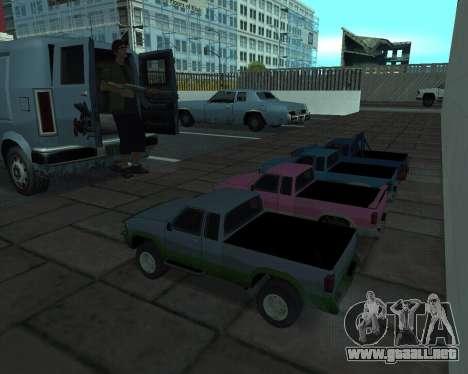 RC Pickup Off Road para GTA San Andreas vista posterior izquierda