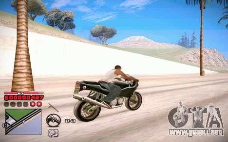 C-HUD by ComPot para GTA San Andreas sucesivamente de pantalla