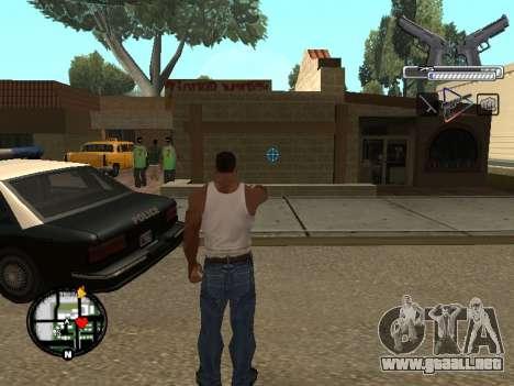 С-HUD por MoLoT para GTA San Andreas