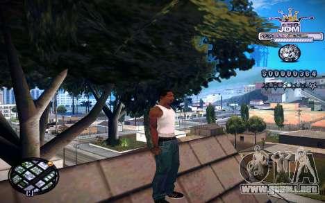 C-HUD JDM para GTA San Andreas tercera pantalla