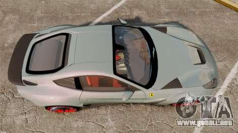 Ferrari F12 Berlinetta Novitec Rosso N-Largo para GTA 4 visión correcta