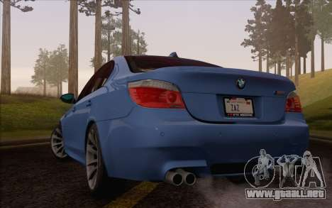BMW M5 E60 2009 para GTA San Andreas left