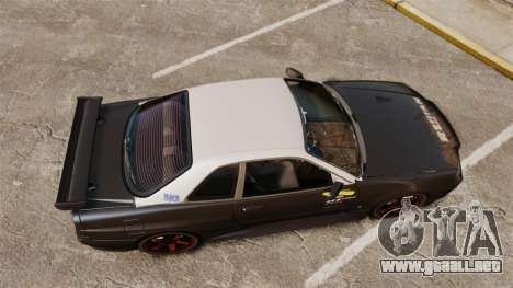 Nissan Skyline GT-R NISMO S-tune Amuse Carbon R para GTA 4 visión correcta