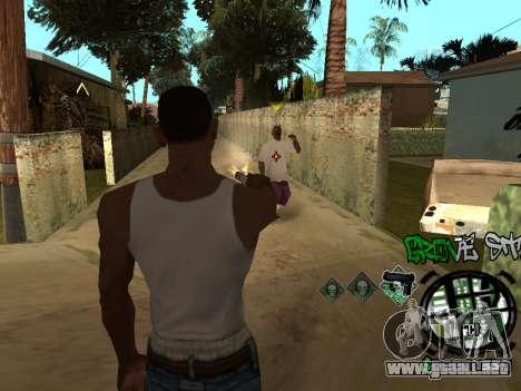 C-HUD Groove Street para GTA San Andreas séptima pantalla
