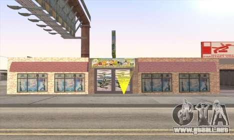 Tienda De Alimentos Saludables para GTA San Andreas