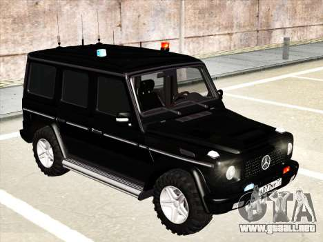 Mercedes-Benz G500 para GTA San Andreas left
