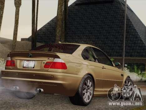 BMW M3 E46 2005 para la visión correcta GTA San Andreas