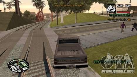 Fuente nueva V.2 para GTA San Andreas tercera pantalla