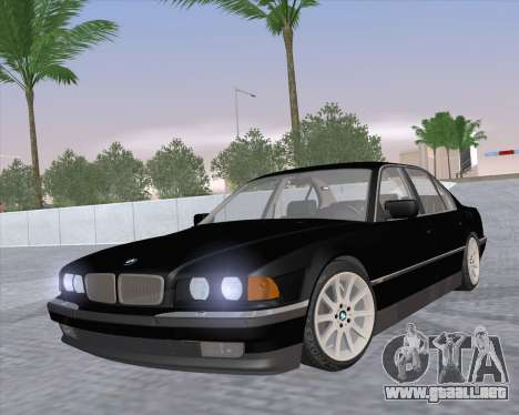 BMW 7-series E38 para GTA San Andreas
