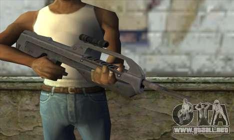 Halo 2 Battle Rifle para GTA San Andreas tercera pantalla