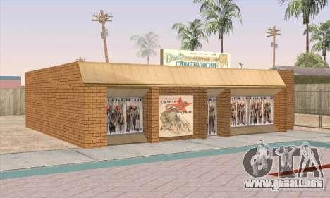 Tienda De Alimentos Saludables para GTA San Andreas quinta pantalla