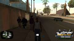 C-HUD Kings of Rap para GTA San Andreas