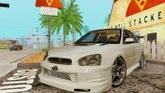 Subaru Impreza WRX Stock para GTA San Andreas