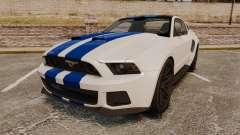 Ford Mustang GT 2013 NFS Edition para GTA 4