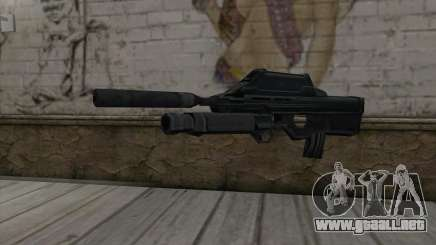 SC-20K Assault Rifle para GTA San Andreas