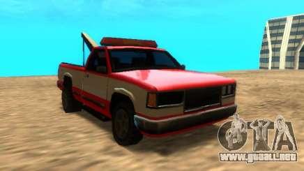 Nuevo Remolque (Yosemite) para GTA San Andreas