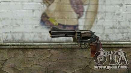 ManHunt revolver para GTA San Andreas