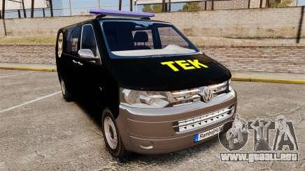 Volkswagen Transporter T5 Hungarian TEK [ELS] para GTA 4