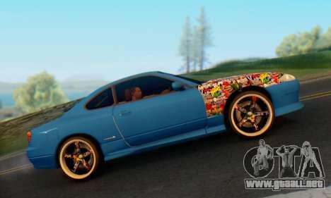 Nissan Silvia S15 Metal Style para la visión correcta GTA San Andreas