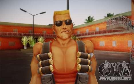 Duke Nukem para GTA San Andreas tercera pantalla