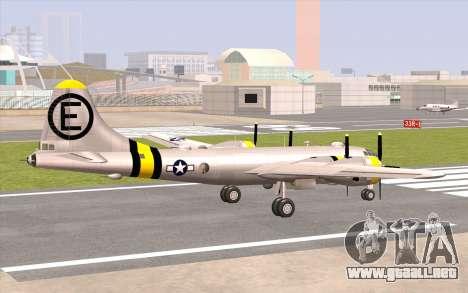 B-29A Superfortress para GTA San Andreas left