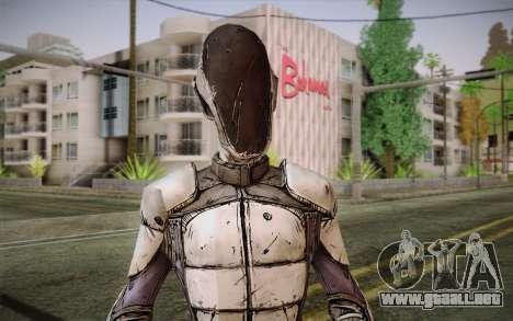 Cero из Borderlands 2 para GTA San Andreas tercera pantalla
