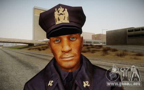 Policeman from Alone in the Dark 5 para GTA San Andreas tercera pantalla