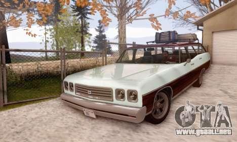Dundreary Regina V1.0 para GTA San Andreas