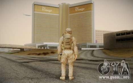 Las de los soldados del Black Ops 2 para GTA San Andreas segunda pantalla