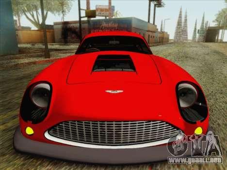 Aston Martin DB4 Zagato 1960 para GTA San Andreas vista hacia atrás