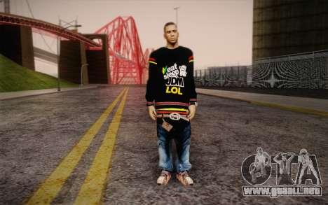Sami Woles Skin para GTA San Andreas