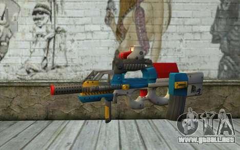 P90 MC Latin 3 from Point Blank para GTA San Andreas