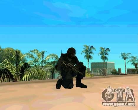Jackhammer de Max Payne para GTA San Andreas sucesivamente de pantalla