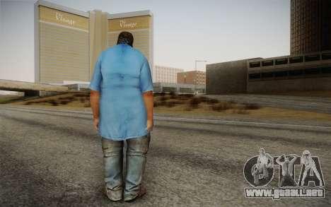 Dicker Ehegatte para GTA San Andreas segunda pantalla