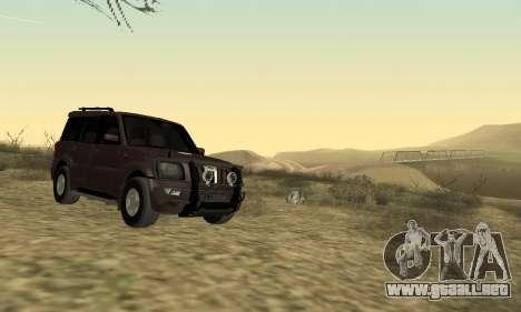 Mahindra Scorpio para GTA San Andreas left