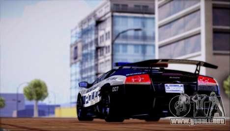 Lamborghini Críticos LP670-4 SuperVeloce, 2010 para la visión correcta GTA San Andreas