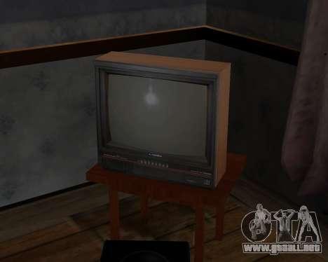 Televisión en color alfa-TC- para GTA San Andreas