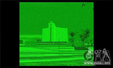 De la noche y mira térmica para rifles. para GTA San Andreas
