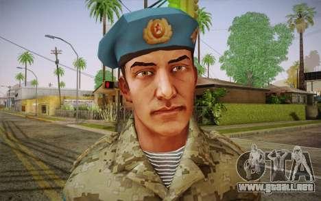 Corporal VDV para GTA San Andreas tercera pantalla