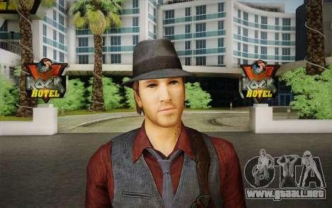 Ronan O'Connor из Asesinados: Alma Suspec para GTA San Andreas tercera pantalla