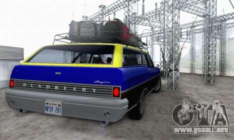 Dundreary Regina V1.0 para visión interna GTA San Andreas