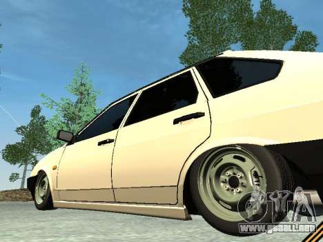 VAZ 2109 para vista inferior GTA San Andreas