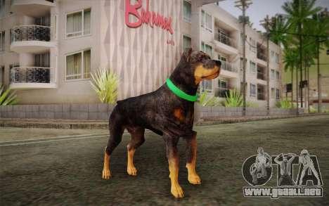 Rottweiler from GTA V para GTA San Andreas