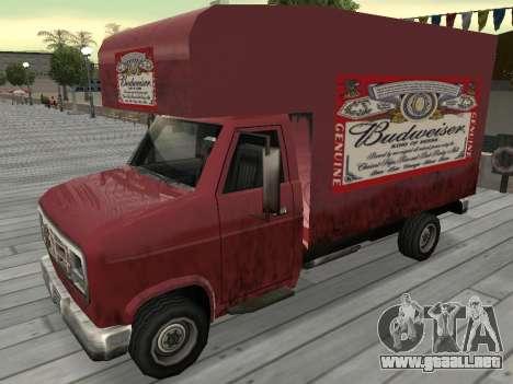 La nueva publicidad en los coches para GTA San Andreas undécima de pantalla