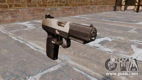 Pistola FN Five seveN Chrome para GTA 4