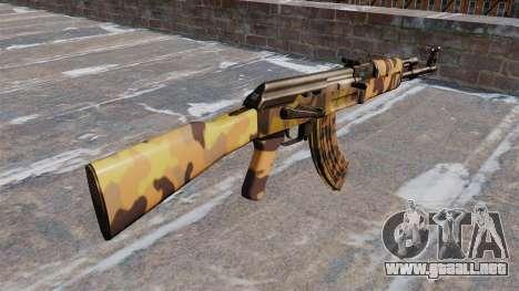 El AK-47 Otoño para GTA 4 segundos de pantalla