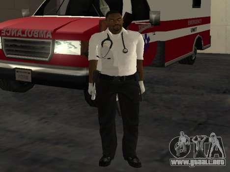 Pack Medic para GTA San Andreas octavo de pantalla